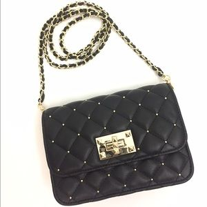 bebe Handbags - [NEW LISTING!] Quilted Crossbody with Studs