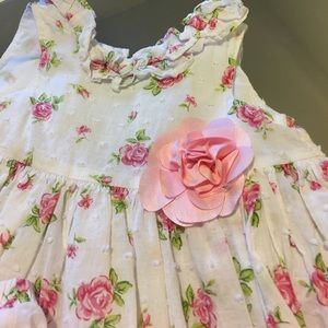 Little Me Other - Rose 🌹 Bud Dress 9m Gently Used, EUC.