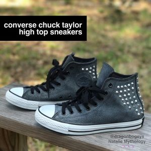 Converse Shoes - Converse Chuck Taylor Studded High Tops
