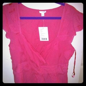 Anthropologie Odille Shirt, size 12 NWT