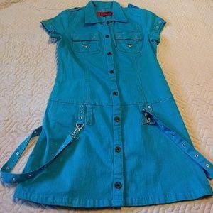 Tripp nyc Dresses & Skirts - Tripp NYC industrial bright blue mini dress