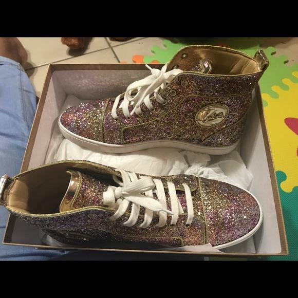 louboutin christian sneakers