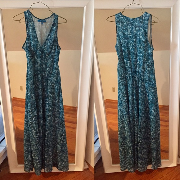 Anthropologie derek lam full skirt maxi dress from eve 39 s for Anthropologie mural maxi dress