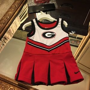 Nike Other - NWT Georgia 12 month old cheerleader outfit.