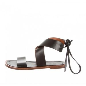 Authentic Celine Leather Sandals - NWOT!