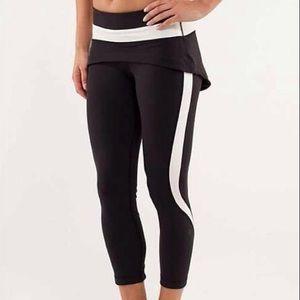 """lululemon athletica Pants - ☀️WEEKEND SALE!!☀️Lululemon """"Steadfast"""" crop yogas"""
