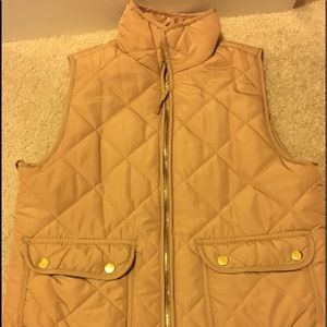 Tan Winter Vest