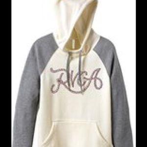 RVCA Tops - RVCA Hooded Sweatshirt