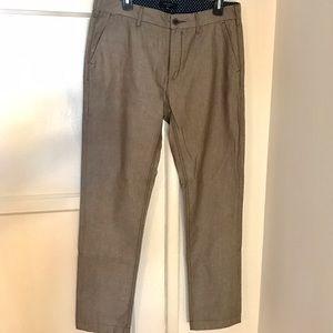 Ted Baker London men's linen trousers NWOT