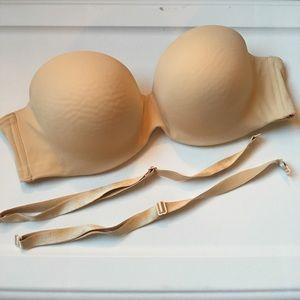 d098373939491 Ambrielle Intimates   Sleepwear - Full-Figure Convertible Strapless Bra  (NUDE COLOR)