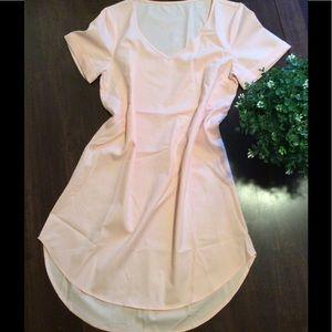 Dresses & Skirts - Light pink, semi sheer dress
