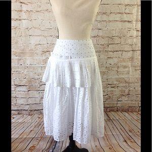 Lane Bryant Dresses & Skirts - Womens Eyelet Skirt