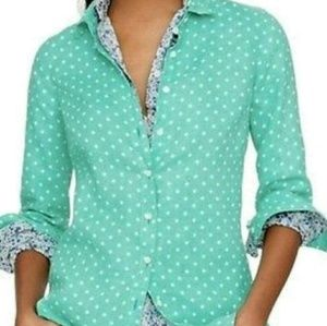 J Crew polka dot top