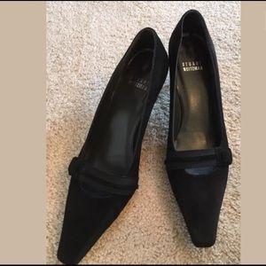 Stuart Weitzman Shoes - Stuart Weitzman Black Suede Pumps 6.5 M
