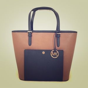 NEW Authentic Michael Kors Leather Tote