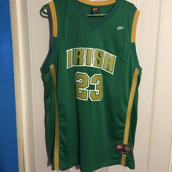 buy popular ecc38 0db4b Brand new never been worn Lebron James HS jersey