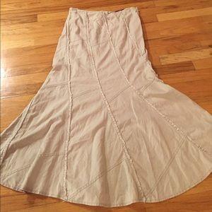 Gypsy Jeans maxi linen &cotton w/hidden belt loops