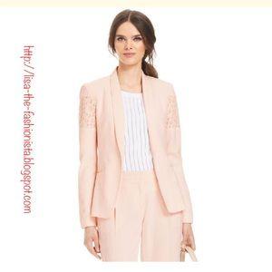 Laundry by Shelli Segal Jackets & Blazers - NWT Laundry by Shelli Segal Pink Peony Blazer 14