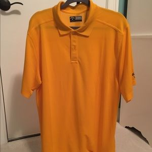 Callaway Other - Bright yellow/gold-ish golf polo