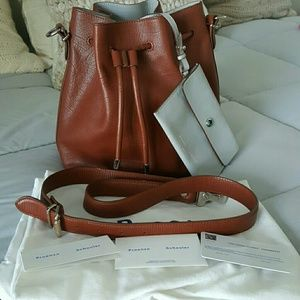 Proenza Schouler Handbags - Proenza Schouler Tan Cognac Medium Bucket Bag