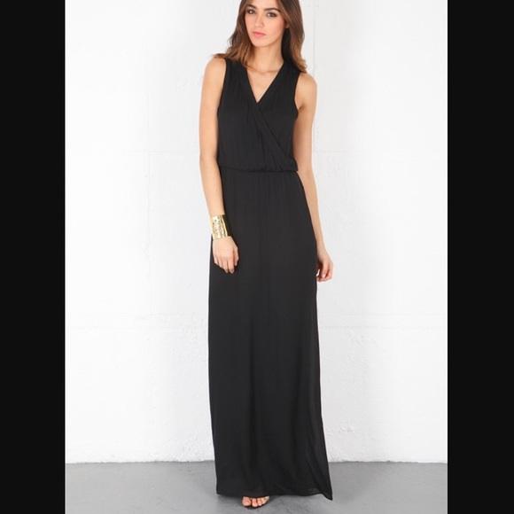 da408d1502d176 Parker Layne black Silk Georgette Dress. M 590fd4e66d64bc9b1302c6d5
