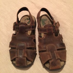 Match'n Go Leather Sandals
