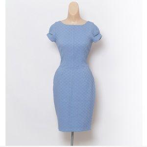 Closet Dresses & Skirts - Closet London blue dress size 14 sexy blue