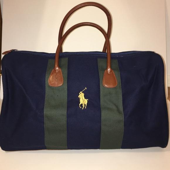 44abb6a30085 Polo Ralph Lauren Duffle Travel Bag 👜. M 590fd7f27f0a0535af02dab8