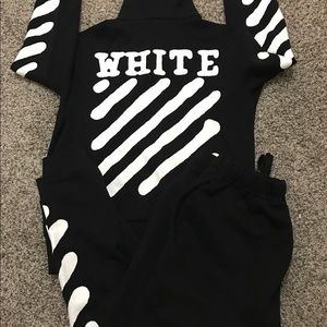 Off-White Other - Off White Sweat Suit