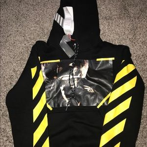 Off-White Other - Off-White Falling Angel Hoodie