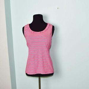 Jones New York Tops - Jones New York Pink Striped Blouse