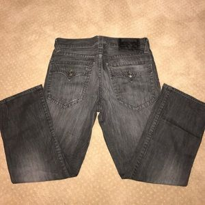 Men's true religion jeans.