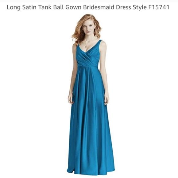 Pacific Satin Gown Bridesmaid Dress Style F15741 | Poshmark