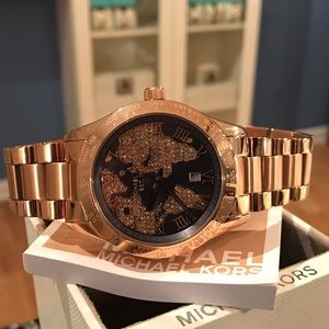 Michael Kors Accessories - New Michael Kors Bradshaw Rose Gold Watch MK6395
