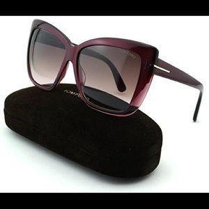 Tom Ford Accessories - Tom Ford Irina sunglasses in Plum