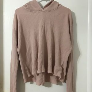 NWOT BLUSH THERMAL BRANDY SWEATER