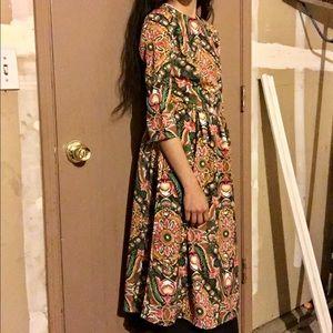 choies Dresses & Skirts - Brocade Midi Dress
