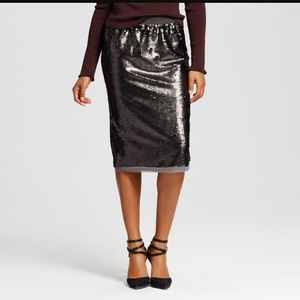 Who what wear sequin pencil skirt small