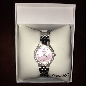 Seiko Accessories - Women's Seiko Stainless Steel Watch
