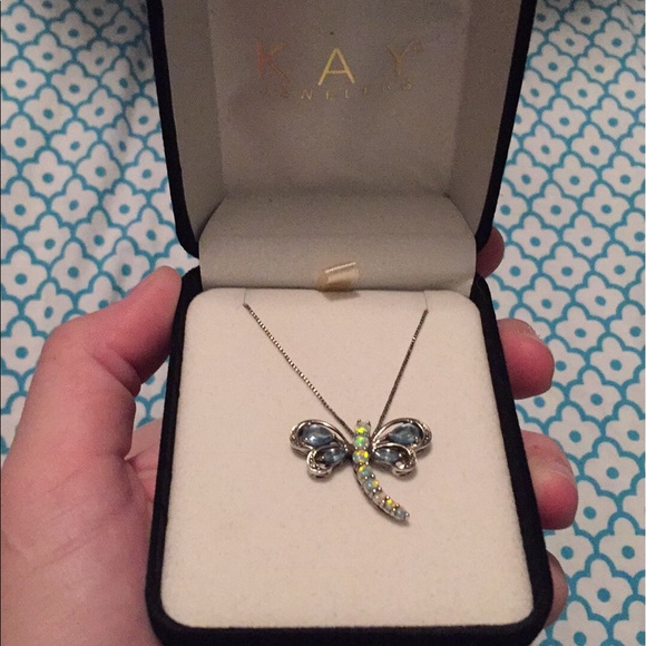2e2802ba1 Jewelry | Kay Jewelers Dragonfly Necklace | Poshmark