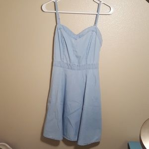 American Rag Dresses & Skirts - MEMORIAL SALE American Rag chambray dress xs blue