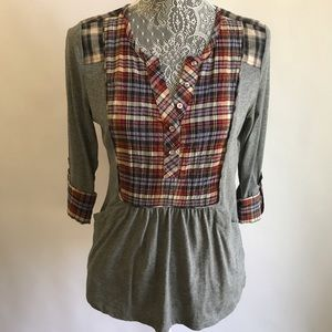 One September by anthropologie blouse, Sz P