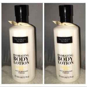 VS 2 full size coconut milk lotion