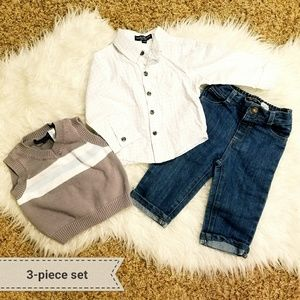 Wendy Bellissimo Other - 3-piece sweater vest set for your dapper boy