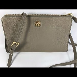 Tory Burch Handbags - Tory Burch Robinson Leather Wallet Crossbody Bag