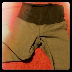 BeMaternity Pants - Cross back yoga maternity leggings