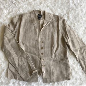 Eileen Fisher Jackets & Blazers - Eileen Fisher Linen Blend Jacket