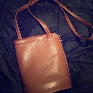Maxima Handbags - 🔵Wilson's Leather Brown Leather Bucket Purse