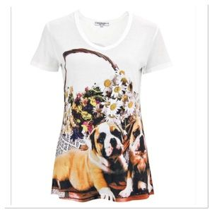Bouquet Boxer Tee