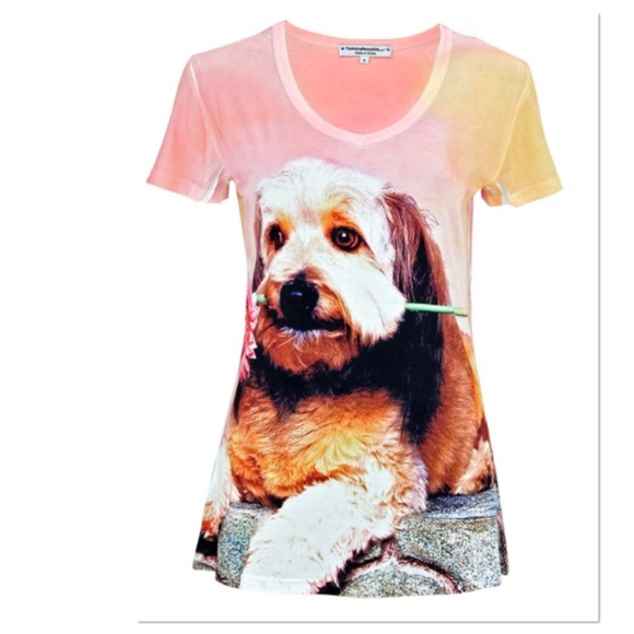 Boutique Tops - Puppy Tee